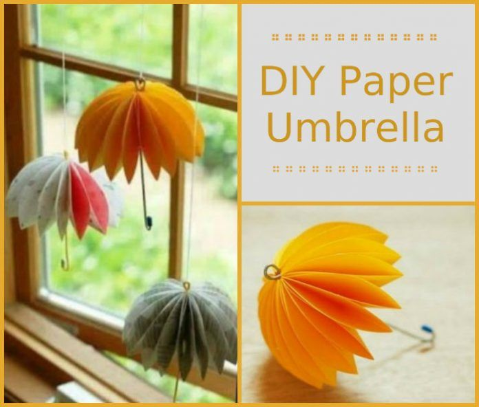 Diy Paper Umbrella Share Today S Craft And Diy Ideas