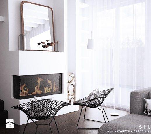 dom dla pary alternatywa - Salon, styl skandynawski - zdjęcie od 5tud10 architektoniczne