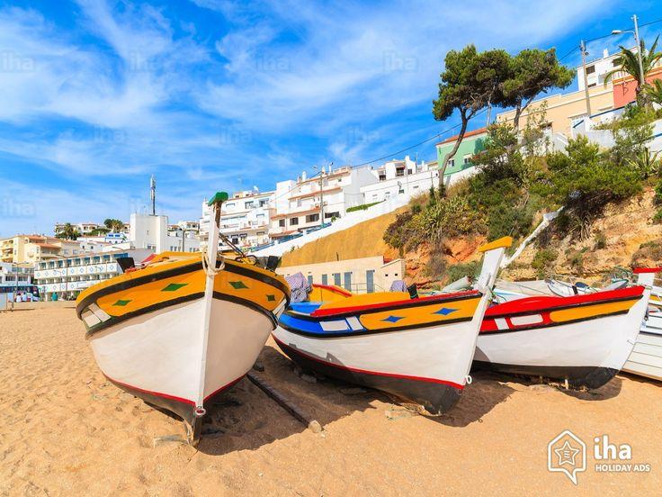 Praia do Carvoeiro, La plage de la Casa de Luz maison d'Hôtes de Thierry Virvaire