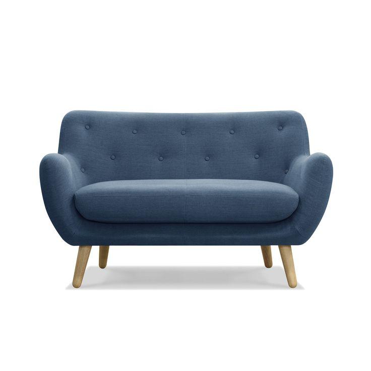 Les 26 meilleures images propos de mobilier d co sur for Canape bleu indigo