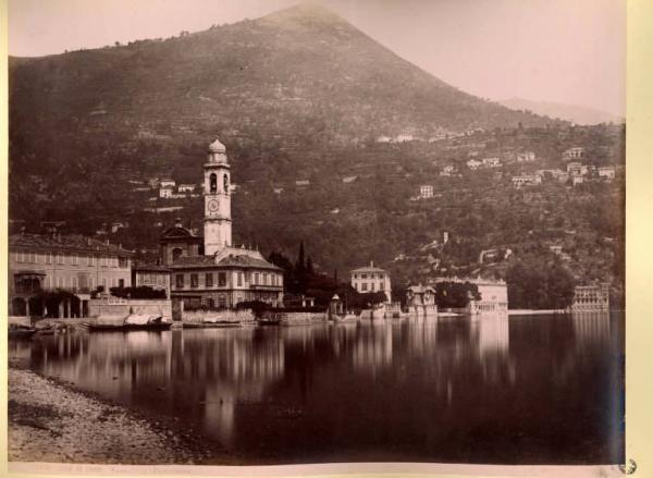 Cernobbio - Panorama. Giorgio Sommer, 1870-1890,  Milano (MI), Raccolte Grafiche e Fotografiche del Castello Sforzesco. Civico Archivio Fotografico, fondo Collezione Lamberto Vitali