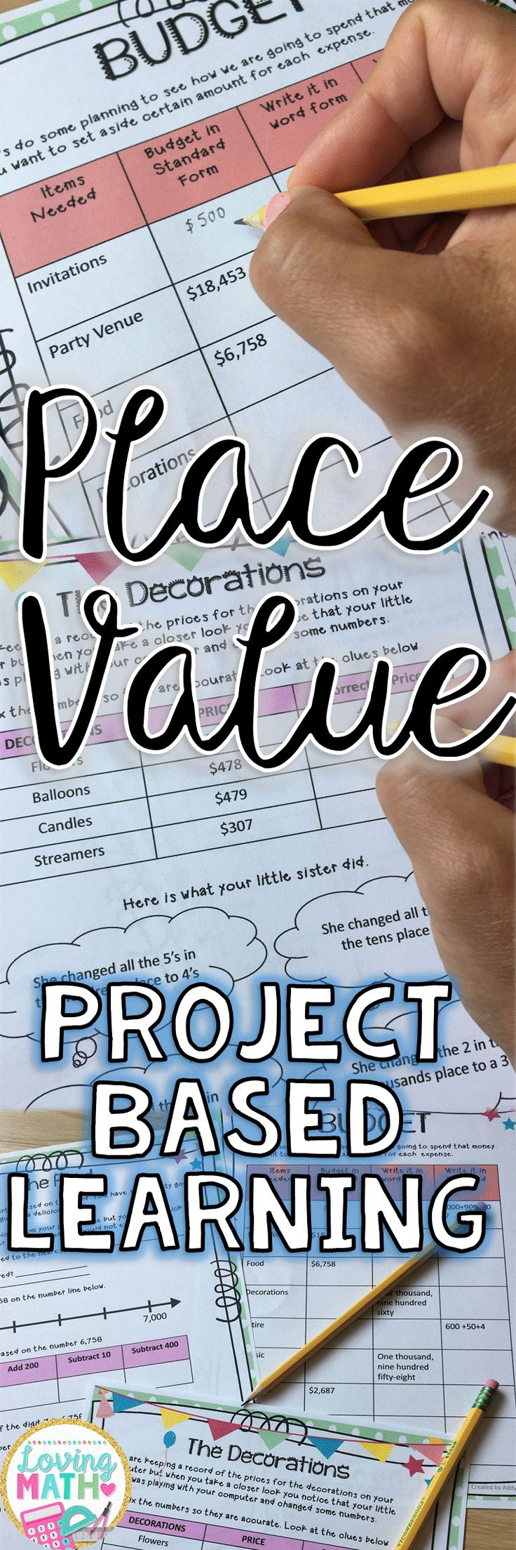 Amazing Place Value Project Based Learning activity. Try at the end of the unit for high engagement . Great for gifted and talented groups.