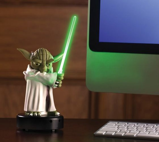 Motion-Activated Talking Yoda - $55