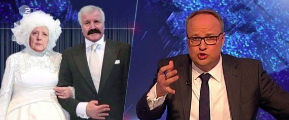 """""""Heute Show"""" therapiert die kaputte Ehe von Merkel und Seehofer http://ift.tt/2lG7TOz"""