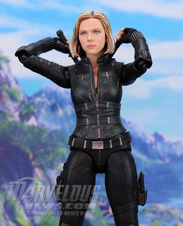 New S.H.Figuarts SHF Avengers Infinity War Black Widow  6/'/' PVC Figure Boxed