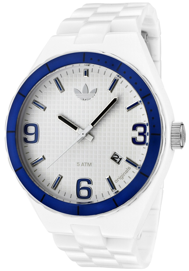Price:$51.40 #watches Adidas ADH2524, Add the element of genuine style with a sporty twist to your wardrobe with this Adidas watch.