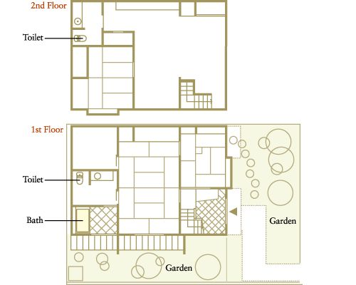Machiya Floor Plan