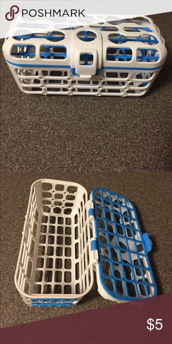 Munchkin bottle dishwasher basket Like new dishwasher basket for bottles and children's toys Munchkin Other