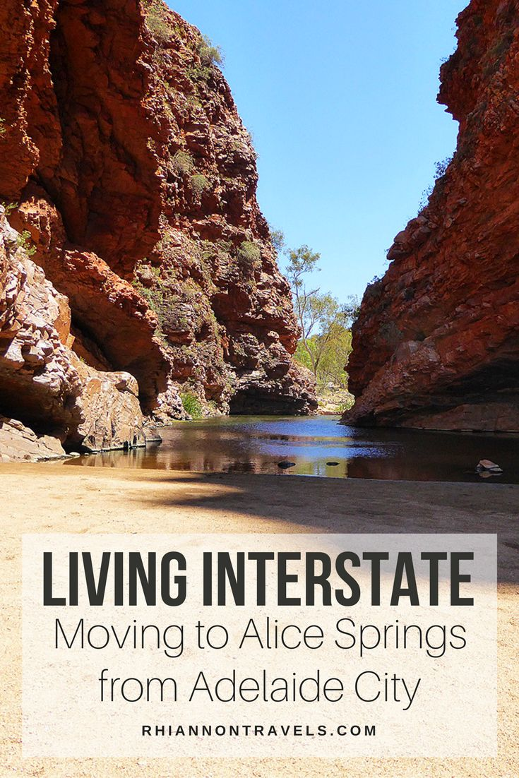 Moving to Alice Springs From Adelaide City: Living Interstate in Australia