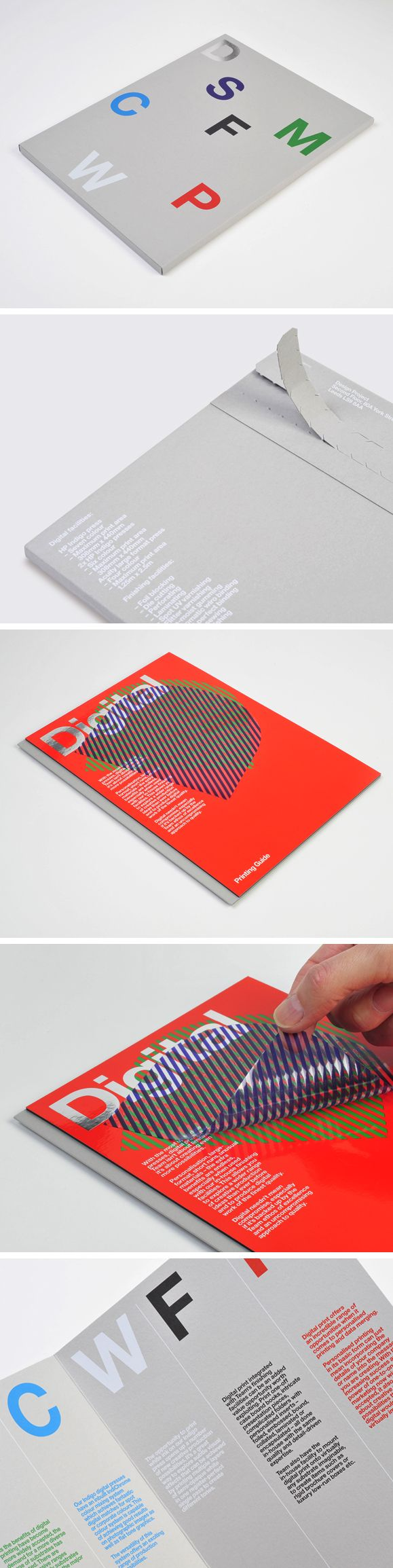 Team Impression printing guide, designed by Design Project