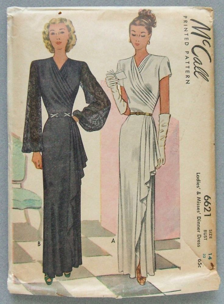 Short to long dresses 40s
