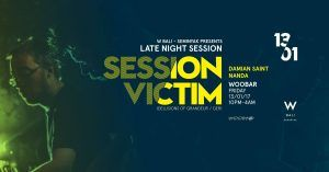 From the small town of Lüneburg in Germany ..  W Bali Presents Late Night ft Session Victim > Bali Event Calendar