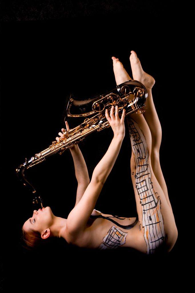 Clarinet music for female belly and gogo dance 7