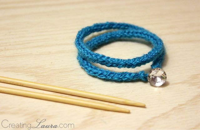 Knit Bracelet Pattern : 1000+ images about Knit & Crochet Bags & Jewelry on Pinterest Free ...