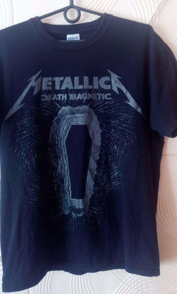 Metallica Death Magnetic  The O2 Arena London 15 september 2008 shirt M Gildan