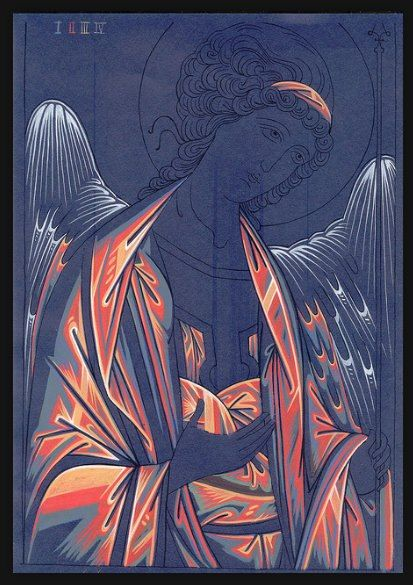 Oplichting kleed engel