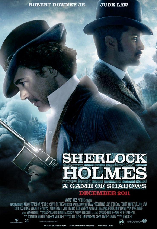 – Mi vorrebbe suo complice nel crimine estetico di abbinare un raffinato abito militare a quella atroce sciarpa fatta a maglia, chiaramente uno dei primi sforzi della sua fidanzata.  [rivolto a Watson]  Citazione dal film ''Sherlock Holmes - Gioco di ombre'' di Holmes