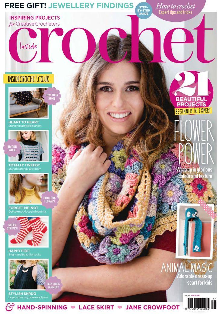 Inside crochet issue 86, 2017