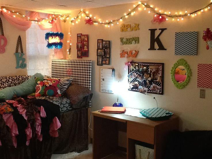 College Girl Room Ideas: Back To College: Dorm Ideas/College