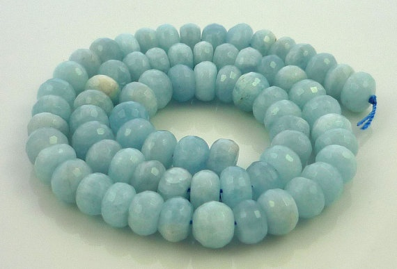 .Pretty Colors, Blue Necklaces, Gorgeous Jewelry, Beads, Stones Necklaces, Beach, Products, Aquamarine, Amazing Jewelry
