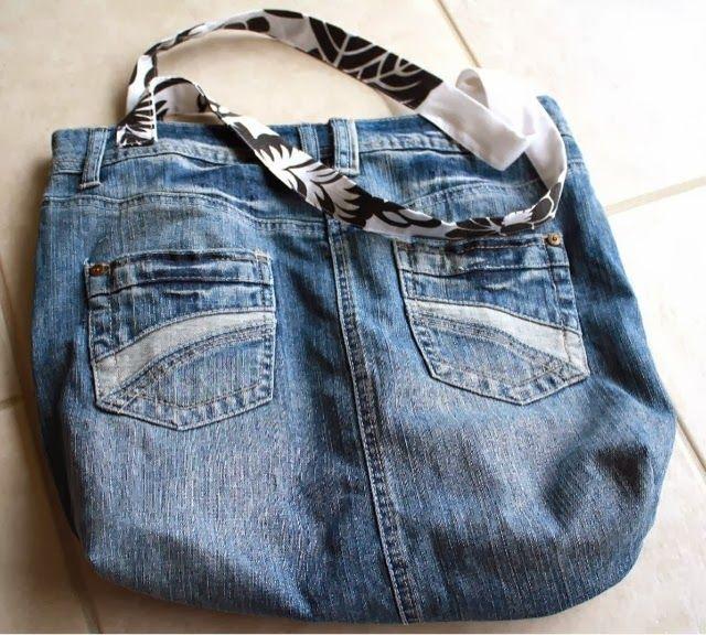 My hippy-dippy denim shoulder bag.
