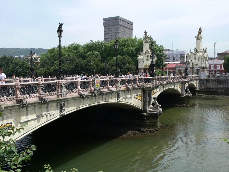 Le pont mar a cristina saint s bastien san sebasti n - Office de tourisme san sebastian espagne ...