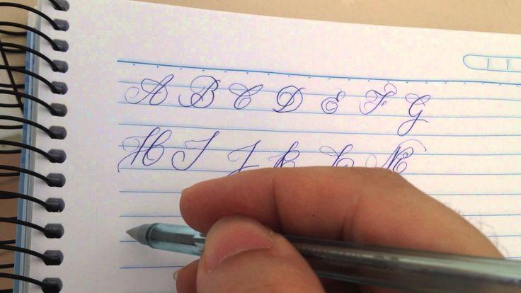 caligrafia artistica alfabeto maiusculo e minusculo - Pesquisa Google