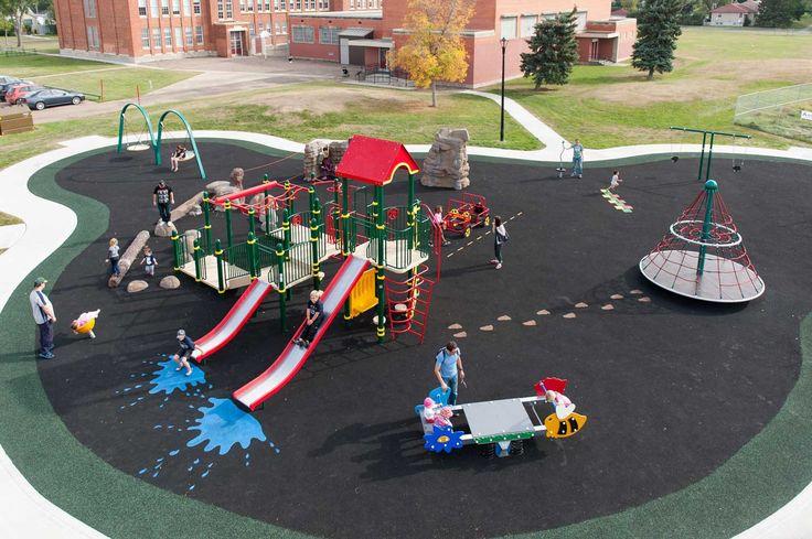 Spruce Avenue Playground, Edmonton