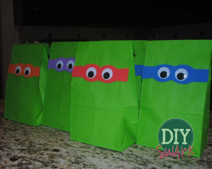"""I never in a million years thought I would be throwing one of my kids a Teenage Mutant Ninja Turtle themed party. My brother who is now 24 was crazy about the """"Turtles"""" when we were kids. Things always have a way of circling back around, don't they? I'm sure my bro was pretty proud …"""