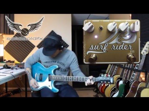 SolidGoldFX Custom Shop Surf Rider III - Feat. R.J. Ronquillo