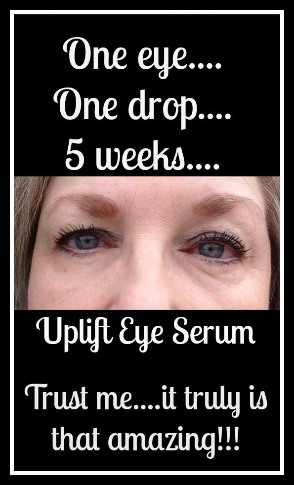 Uplift eye serum! Look at those results! Order yours here! www.youniqueproducts.com/eyesloveit