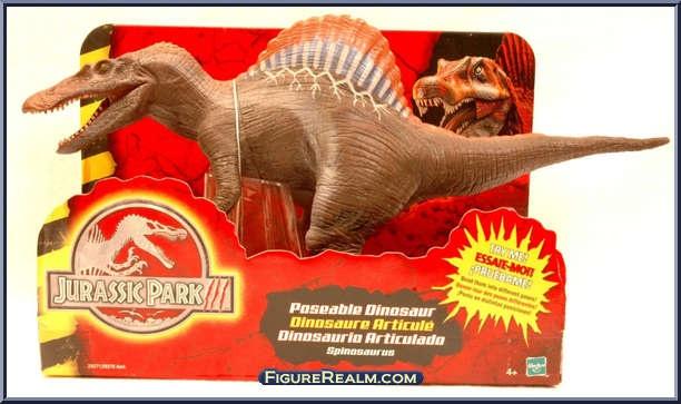 hasbro jurassic park iii posable spinosaurus 2001 the
