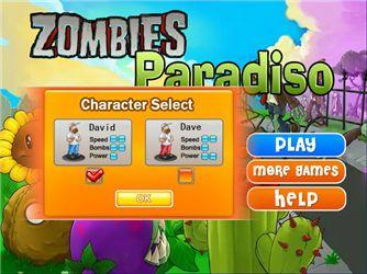 Zombies Paradiso Game,Acción juegos,k7x.com,juegos gratis en línea