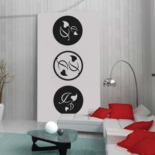 circular adornment wall decals - Designer Wall Stickers