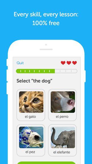 app para niños para aprender idiomas - Duolingo - educación - idiomas