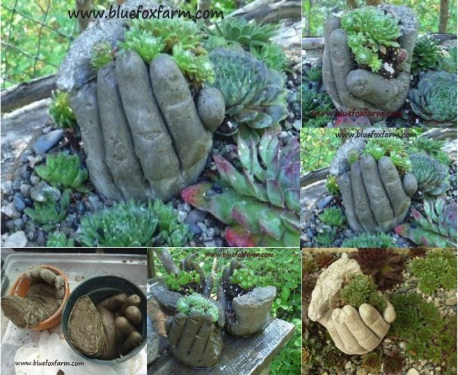 STOP FACEBOOK FROM DECIDING WHAT YOUR SEE! Sign up for email alerts and get all the DIY Fun Ideas right in your inbox!!! These really fun concrete hand planters are such a clever idea idea to add something very unique to your garden. They're the work of the folks over at Blue Fox Farm blog. As […]