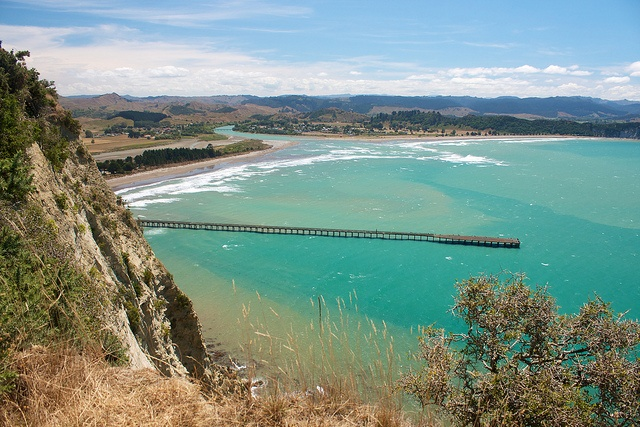 Tolaga Bay Wharf, New Zealand