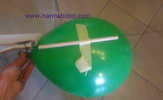 razzo a palloncino