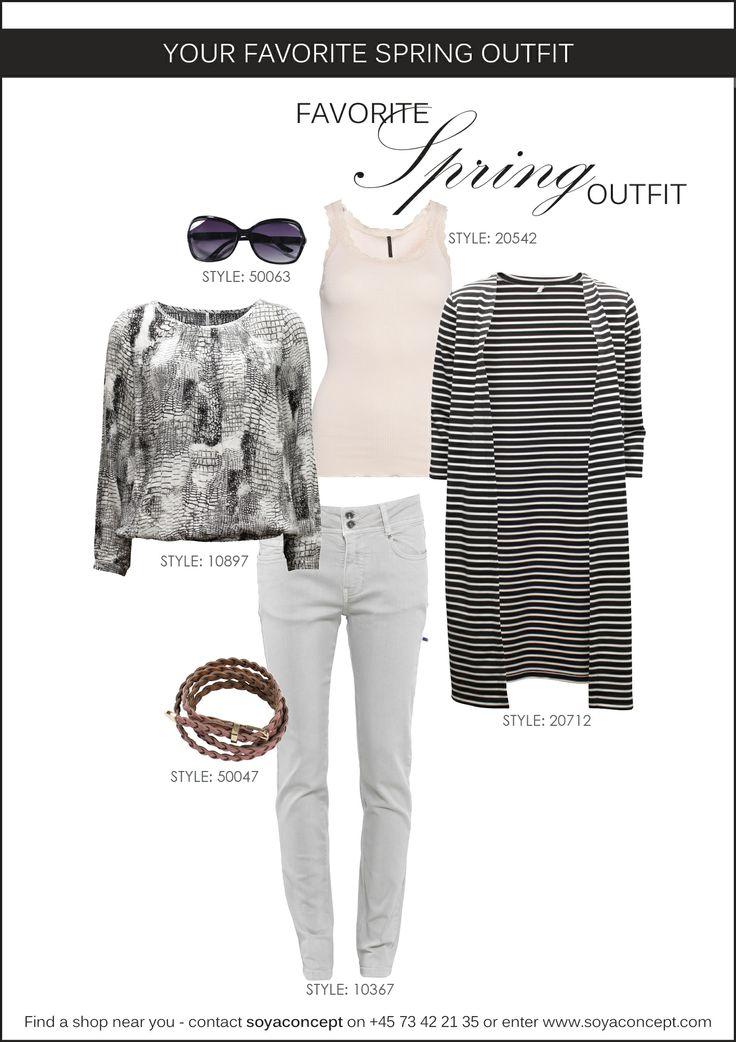 soyaconcept - top - cardigan - blouse - pants - jeans - sunglasses - belt
