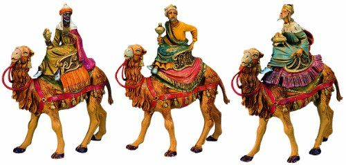 Fontanini by Roman Three Kings on Camels Set 3-Piece 5-Inch Each Fontanini by Roman,http://www.amazon.com/dp/B000FRNWY4/ref=cm_sw_r_pi_dp_eBOPsb0WH7WJ8209