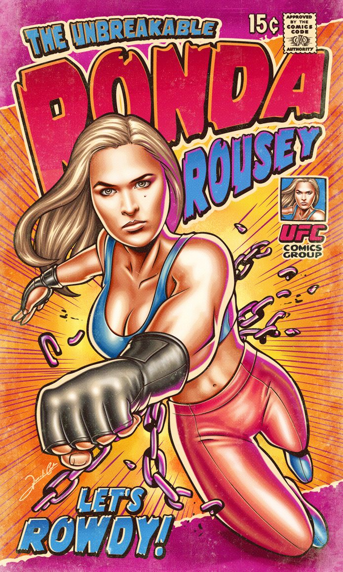 The Unbreakable Ronda Rousey
