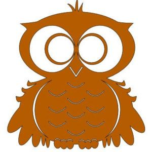 SVG PDF Owl  Silhouette DIGITAL download