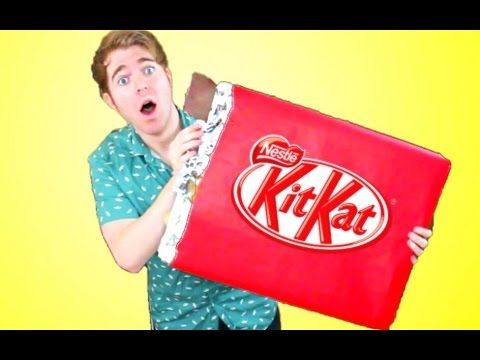GIANT Kit Kat Bar!