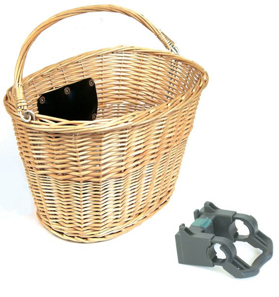 Front Basket Wicker with Quick Release - Accessories - Baskets - Front Basket Wicker with Quick Release - Bike Sales, Giant Bikes, Mountain Bike, Road Bike, Bicycles I think I need one of these.  So cute!