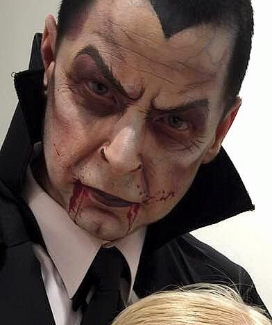 Vampire Dracula design Halloween by Sarah Asker