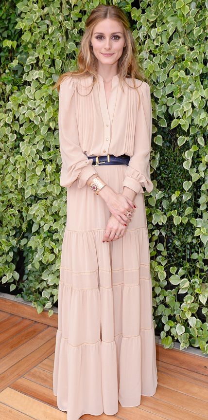 Olivia Palermo. #Modest doesn't mean frumpy! #TotalimageInstitute #DressingWithDignity www.ColleenHammond.com/blog