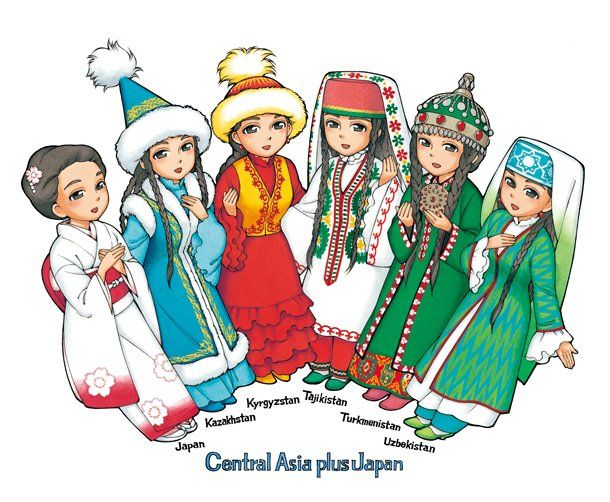 森薫、中央アジア+日本外交10周年キャラを(画像 1/1) - コミックナタリー