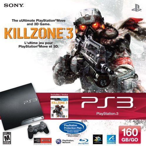 PlayStation 3 160GB Killzone 3 Bundle - http://digitalcamerawithwifi.ellprint.com/playstation-3-160gb-killzone-3-bundle/