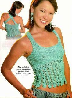 Olá meninas!     Para as colegas que trabalham fazendo roupas em crochê, trouxe esses modelos...   e...