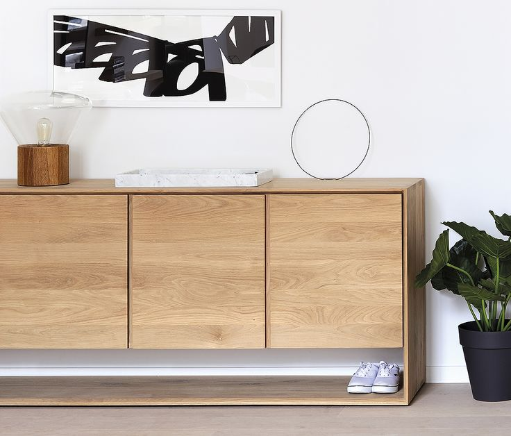 A contemporary collection of stylish, solid oak #sideboards from the #Ethnicraft #Nordic collection. This collection is perfect for any room in the house!